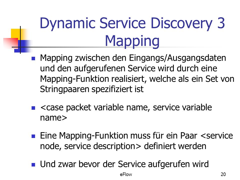 Dynamic Service Discovery 3 Mapping