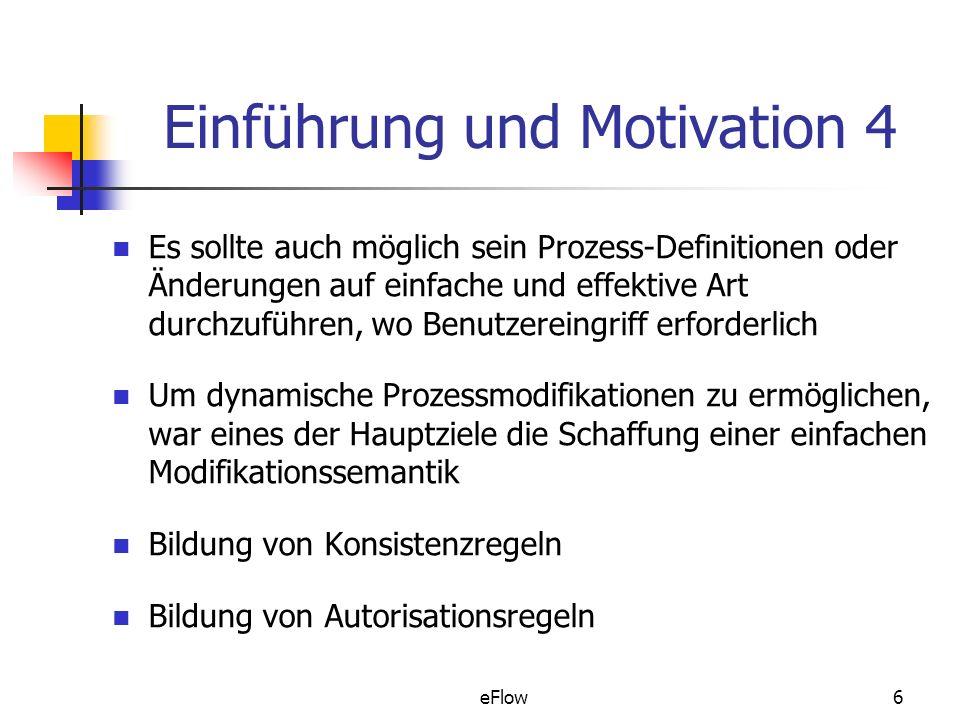 Einführung und Motivation 4