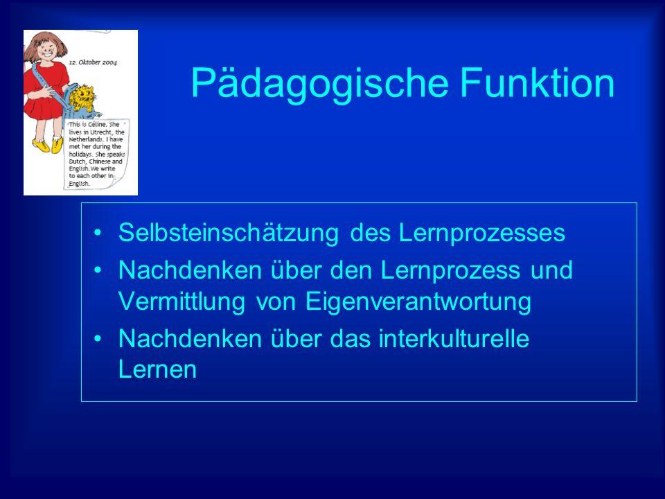 Pädagogische Funktion