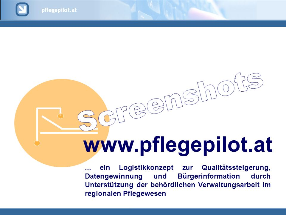 www.pflegepilot.at Screenshots