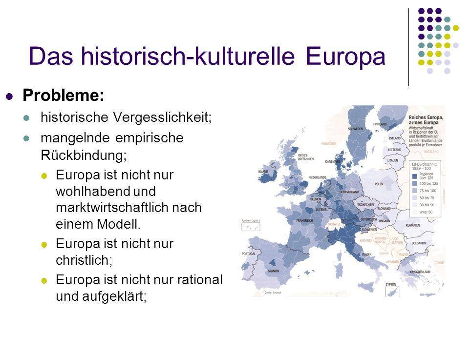 Das historisch-kulturelle Europa