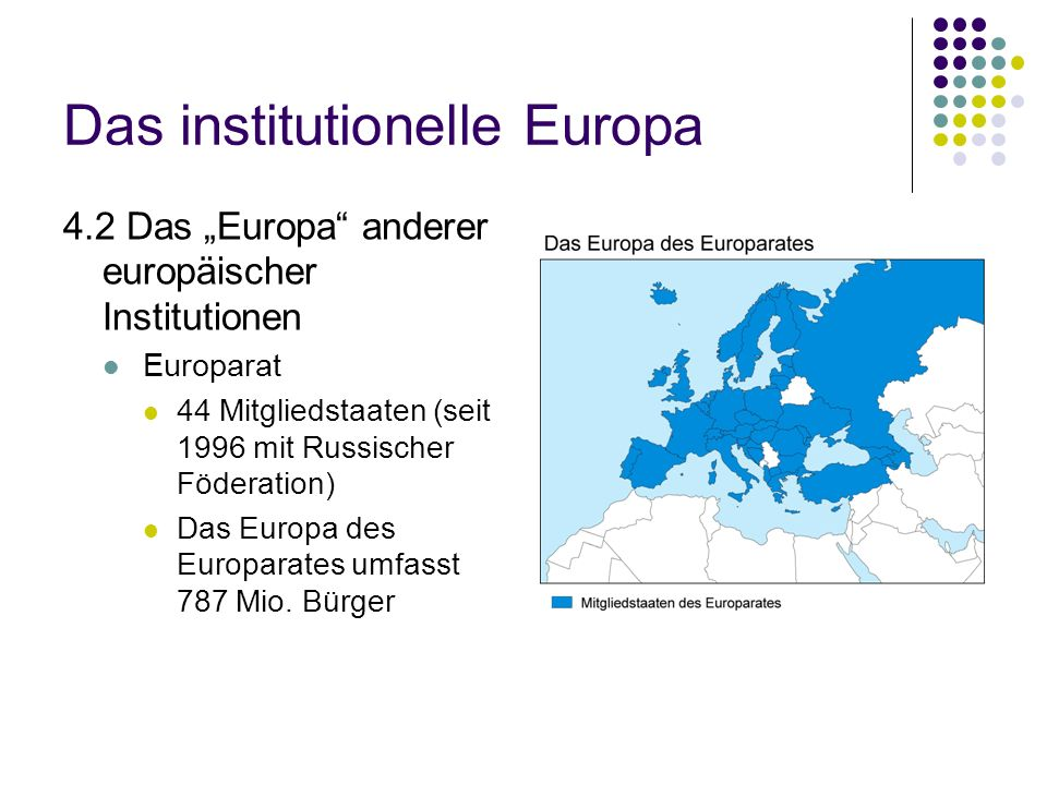 Das institutionelle Europa