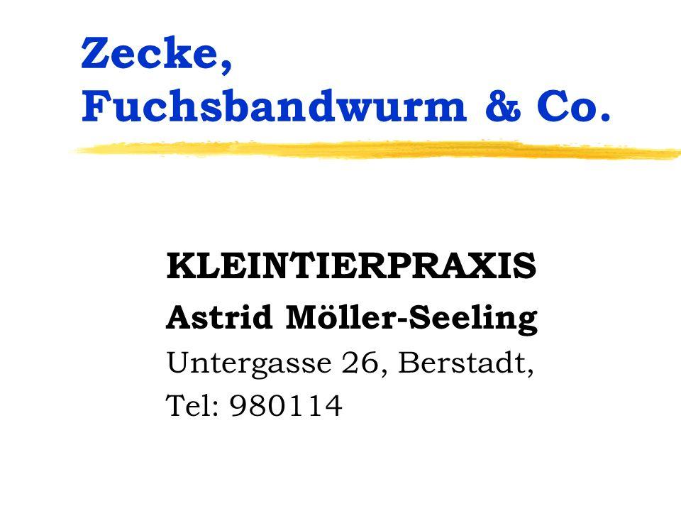 Zecke, Fuchsbandwurm & Co.