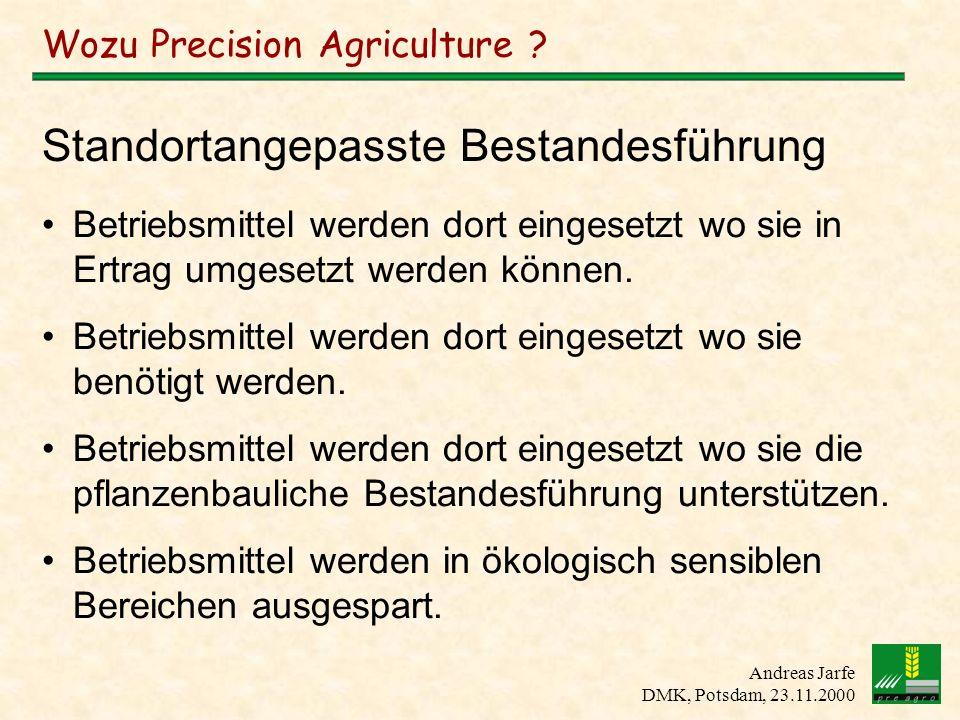 Wozu Precision Agriculture