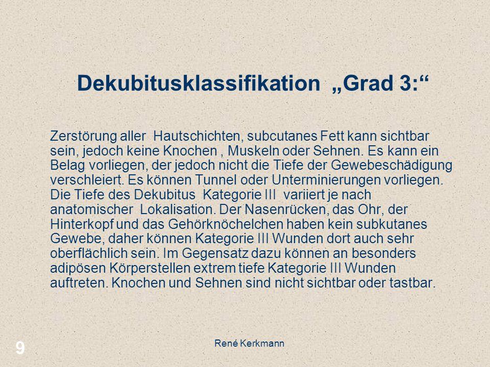 "Dekubitusklassifikation ""Grad 3:"