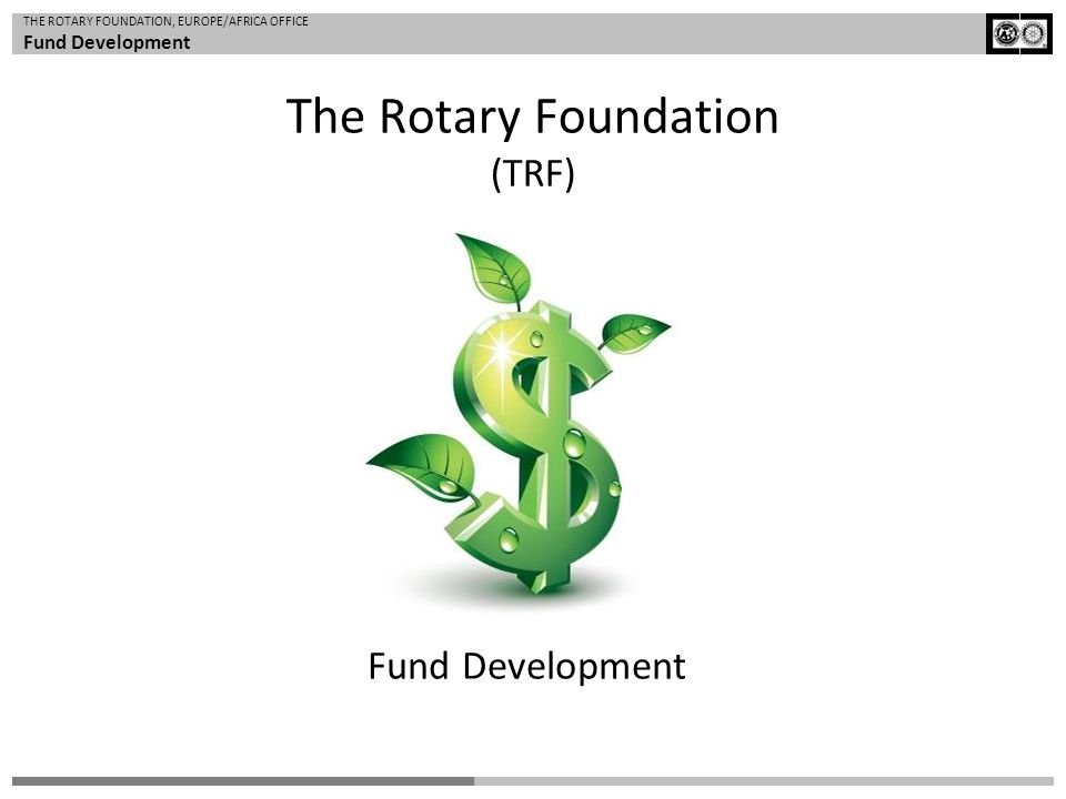 The Rotary Foundation (TRF)