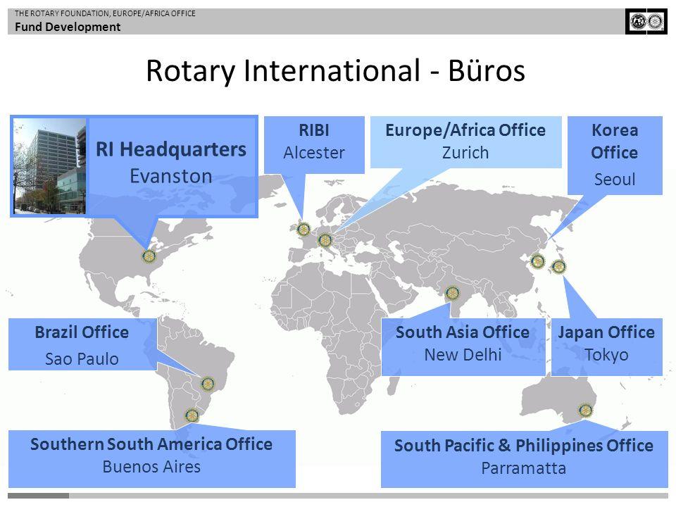 Rotary International - Büros