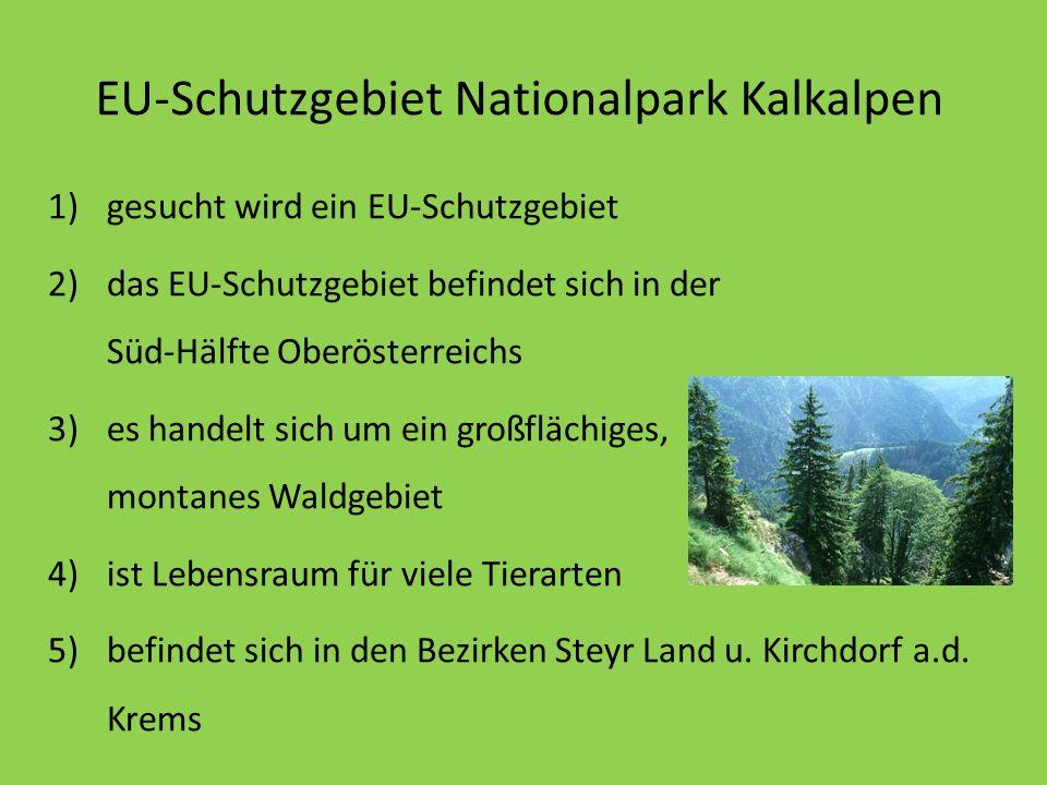 EU-Schutzgebiet Nationalpark Kalkalpen