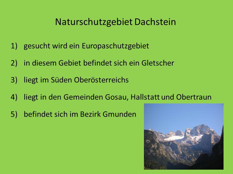 Naturschutzgebiet Dachstein