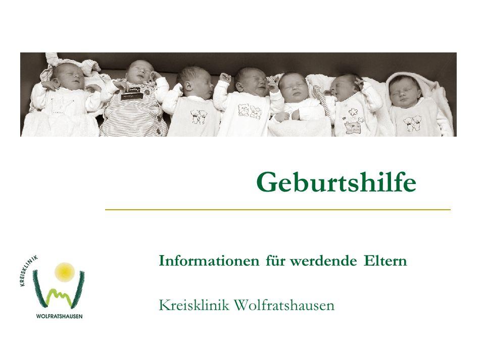 Geburtshilfe. Informationen für werdende Eltern