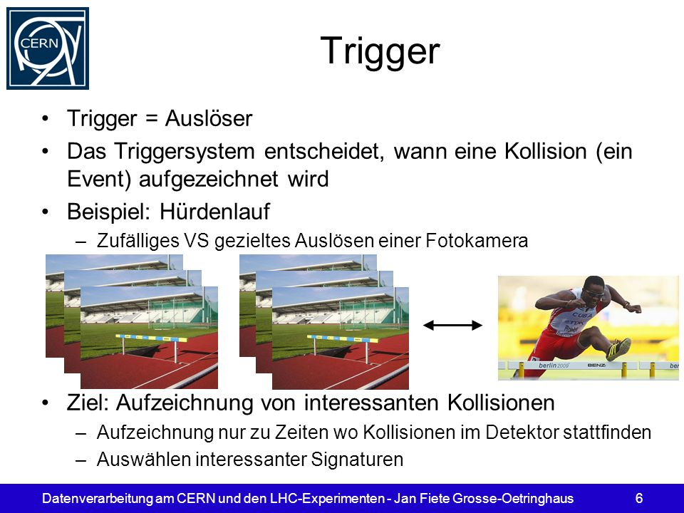 Trigger Trigger = Auslöser