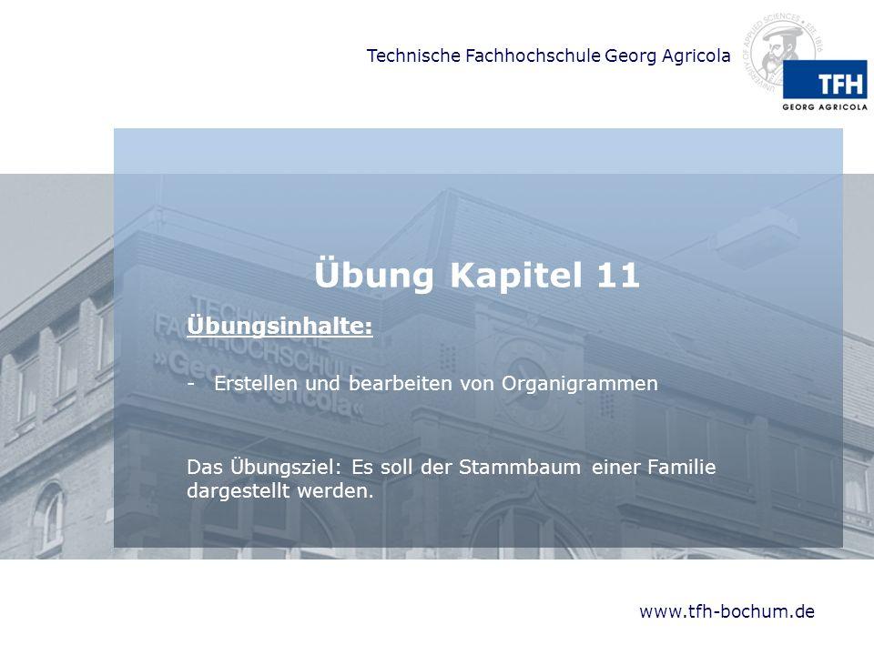 Übung Kapitel 11 Übungsinhalte: