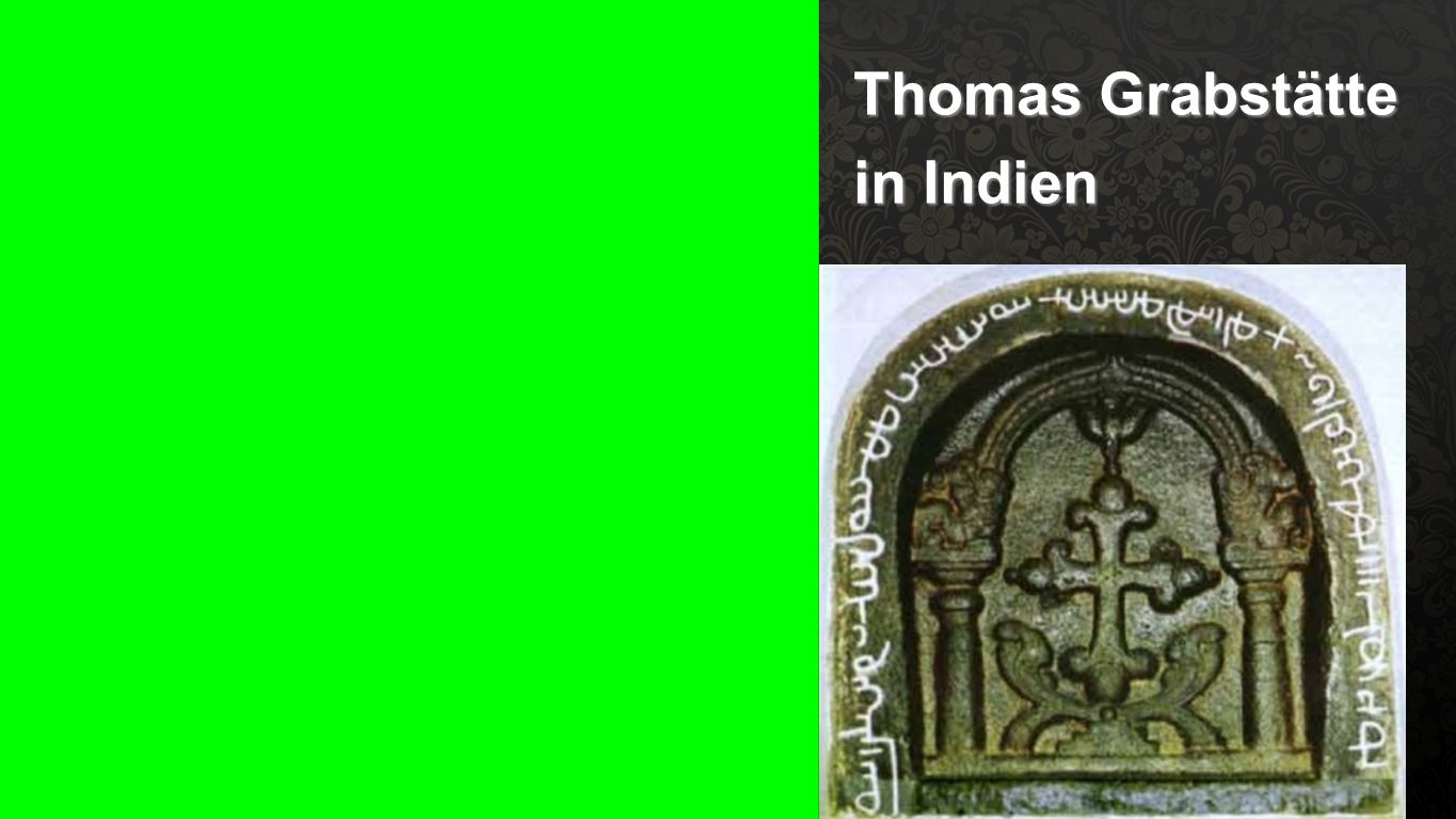 Thomas Grabstätte in Indien