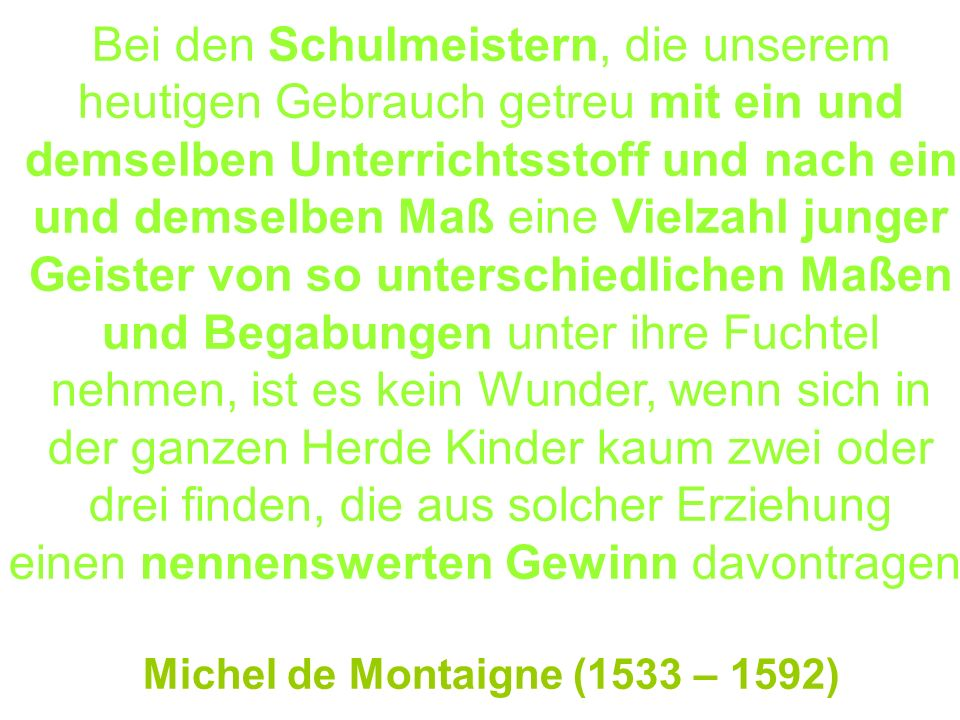 Michel de Montaigne (1533 – 1592)‏