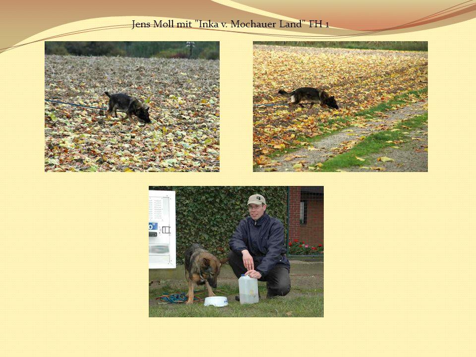 Jens Moll mit Inka v. Mochauer Land FH 1