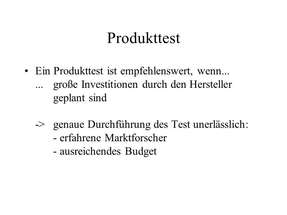 Produkttest