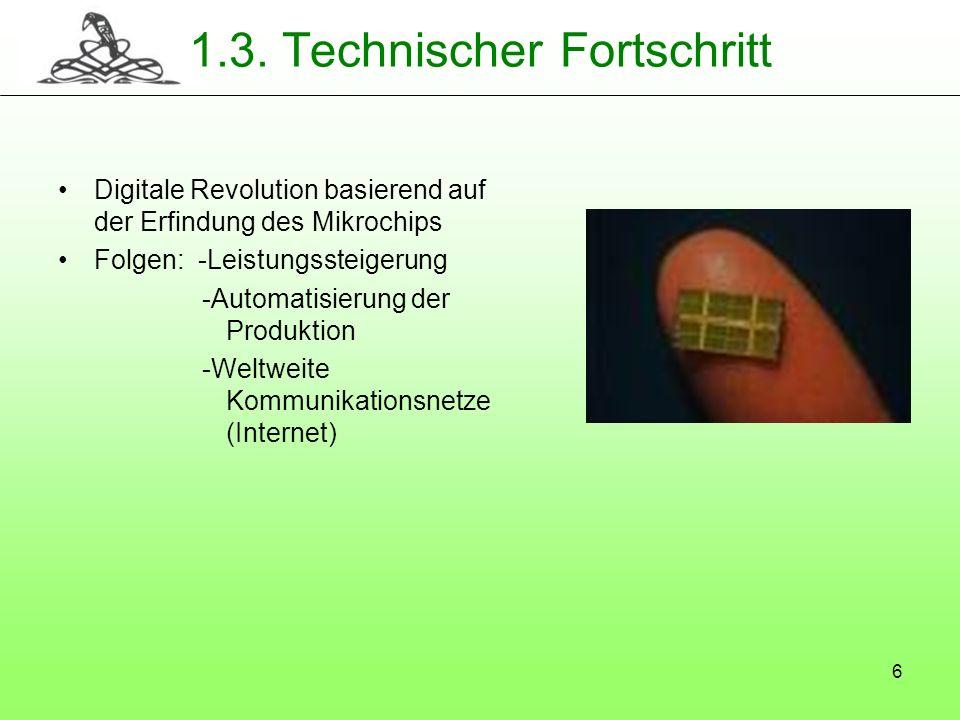 1.3. Technischer Fortschritt