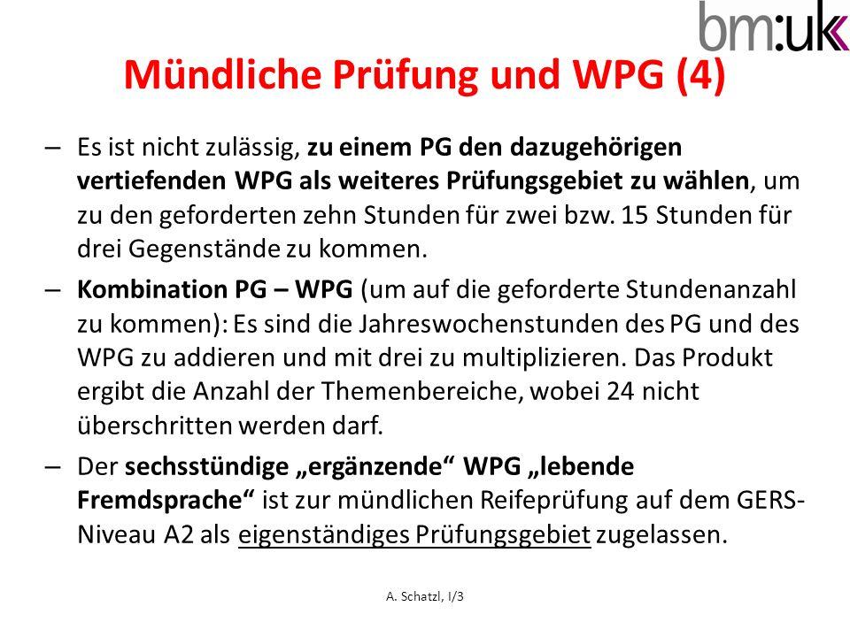 Mündliche Prüfung und WPG (4)
