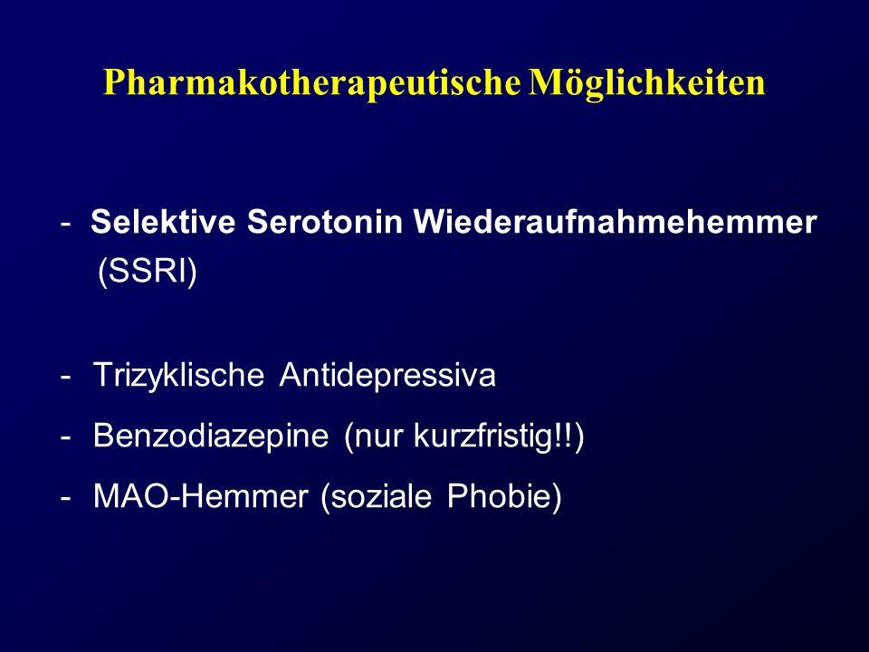 Pharmakotherapeutische Möglichkeiten