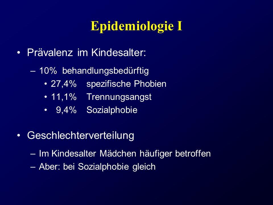 Epidemiologie I Prävalenz im Kindesalter: Geschlechterverteilung