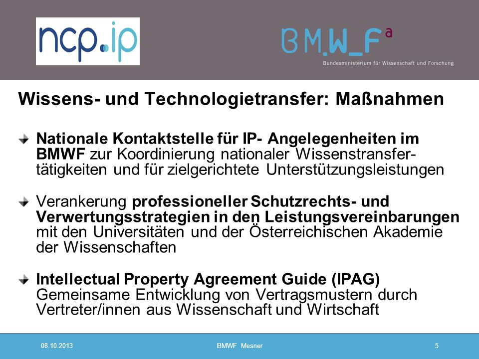 08.10.2013 BMWF Mesner