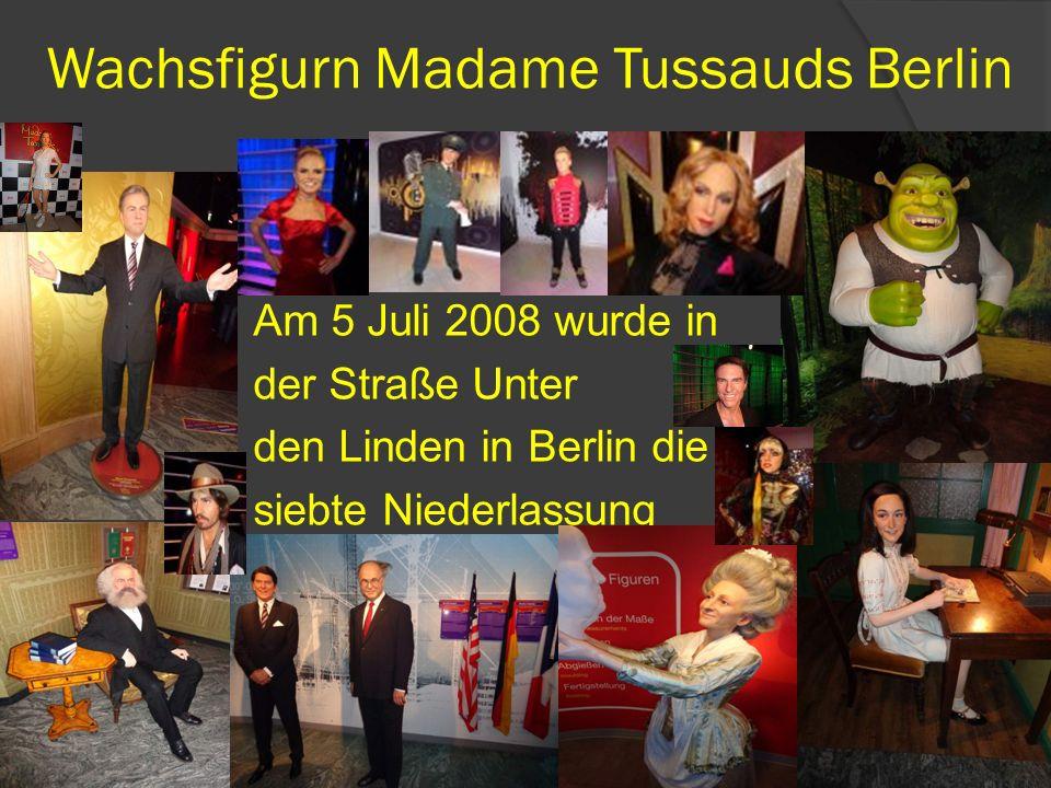 Wachsfigurn Madame Tussauds Berlin
