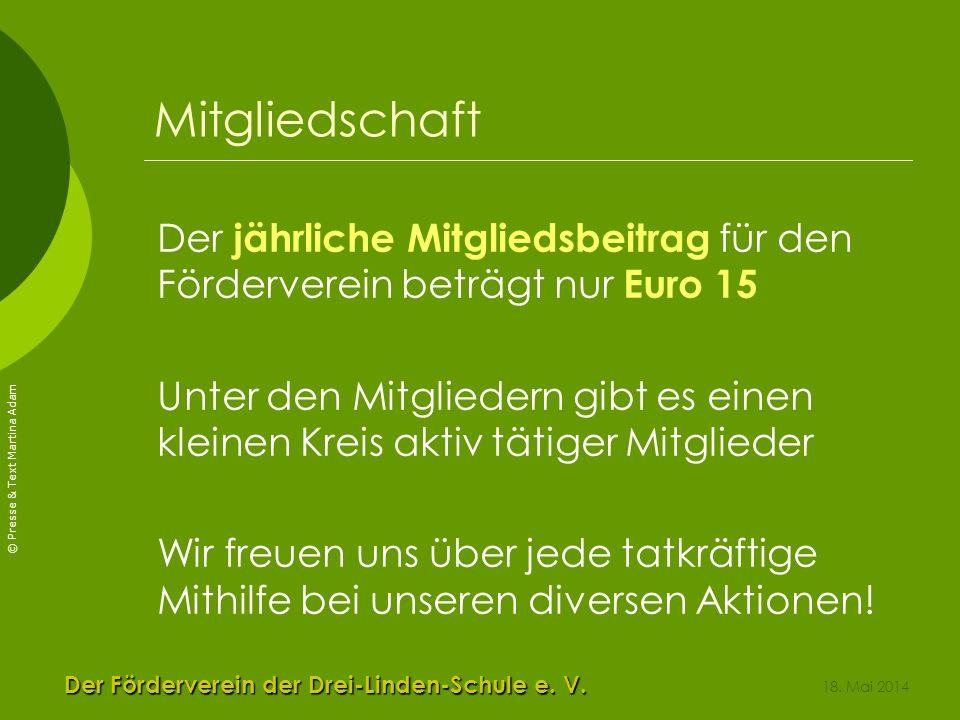 Der Förderverein der Drei-Linden-Schule e. V.