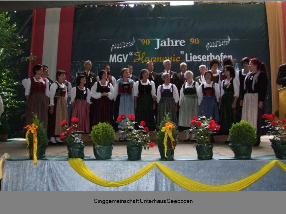 Singgemeinschaft Unterhaus Seeboden