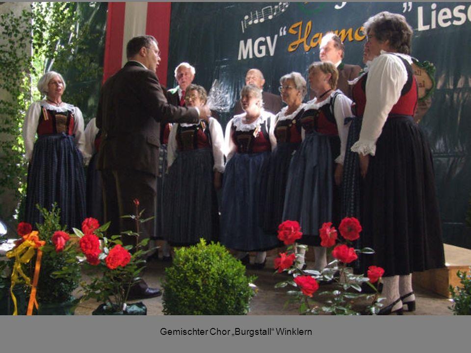 """Gemischter Chor """"Burgstall Winklern"""