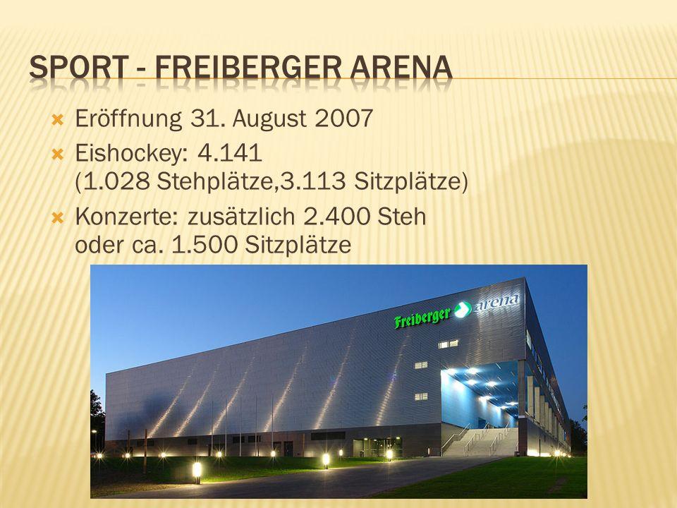 Sport - Freiberger Arena
