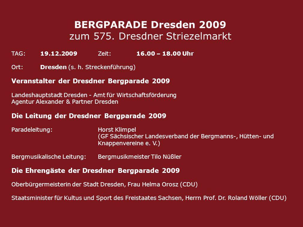 zum 575. Dresdner Striezelmarkt