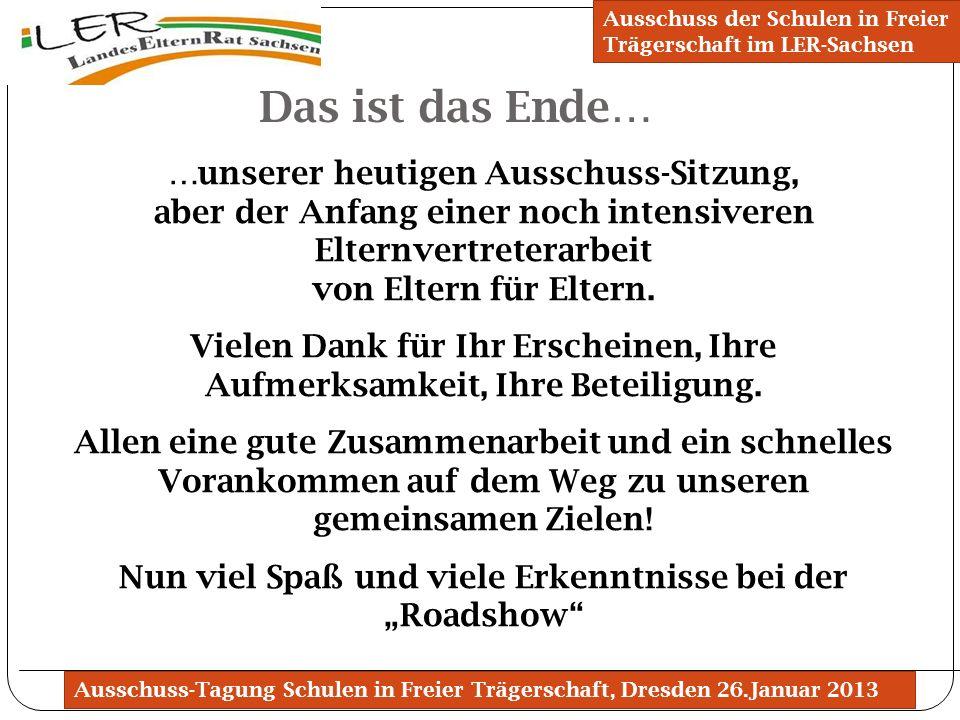Ausschuss der Schulen in Freier Trägerschaft im LER-Sachsen