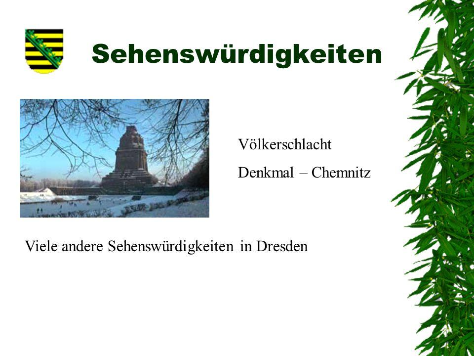 Sehenswürdigkeiten Völkerschlacht Denkmal – Chemnitz
