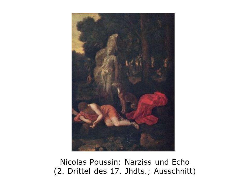 Nicolas Poussin: Narziss und Echo (2. Drittel des 17. Jhdts