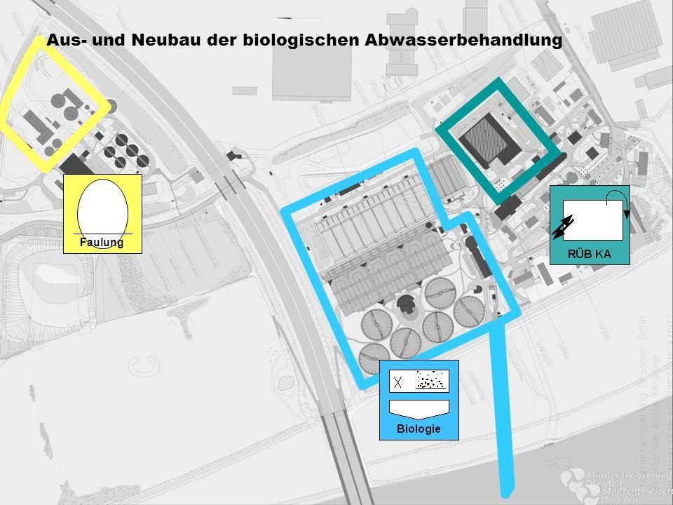 Aus- und Neubau der biologischen Abwasserbehandlung