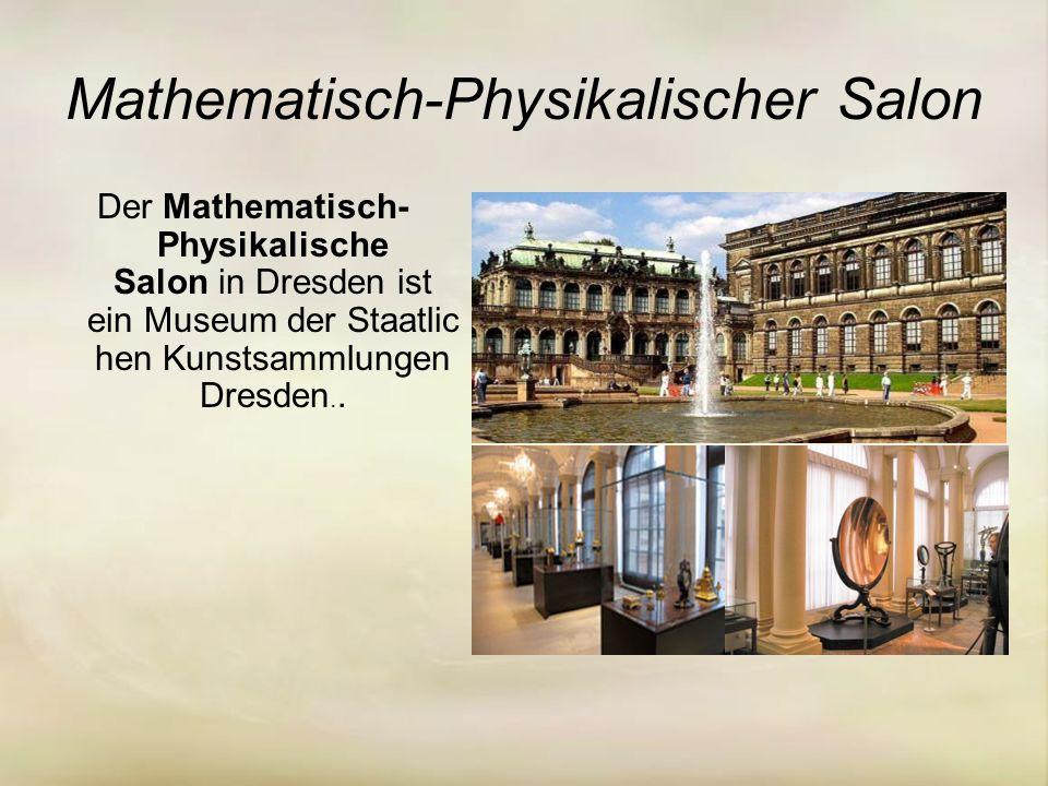 Mathematisch-Physikalischer Salon