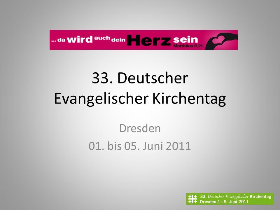 33. Deutscher Evangelischer Kirchentag