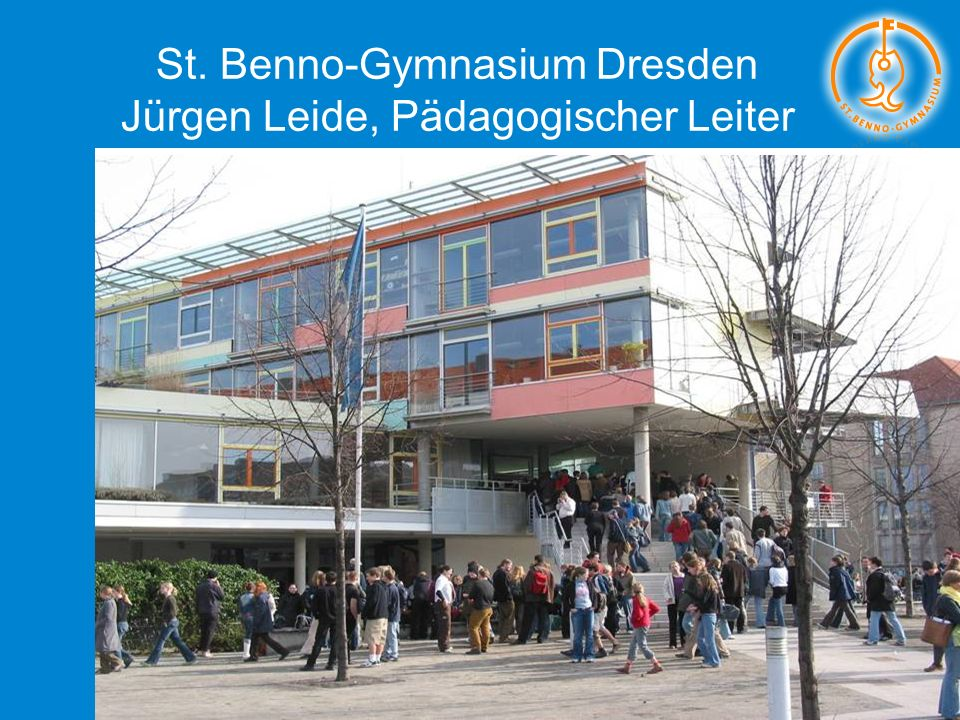St. Benno-Gymnasium Dresden Jürgen Leide, Pädagogischer Leiter