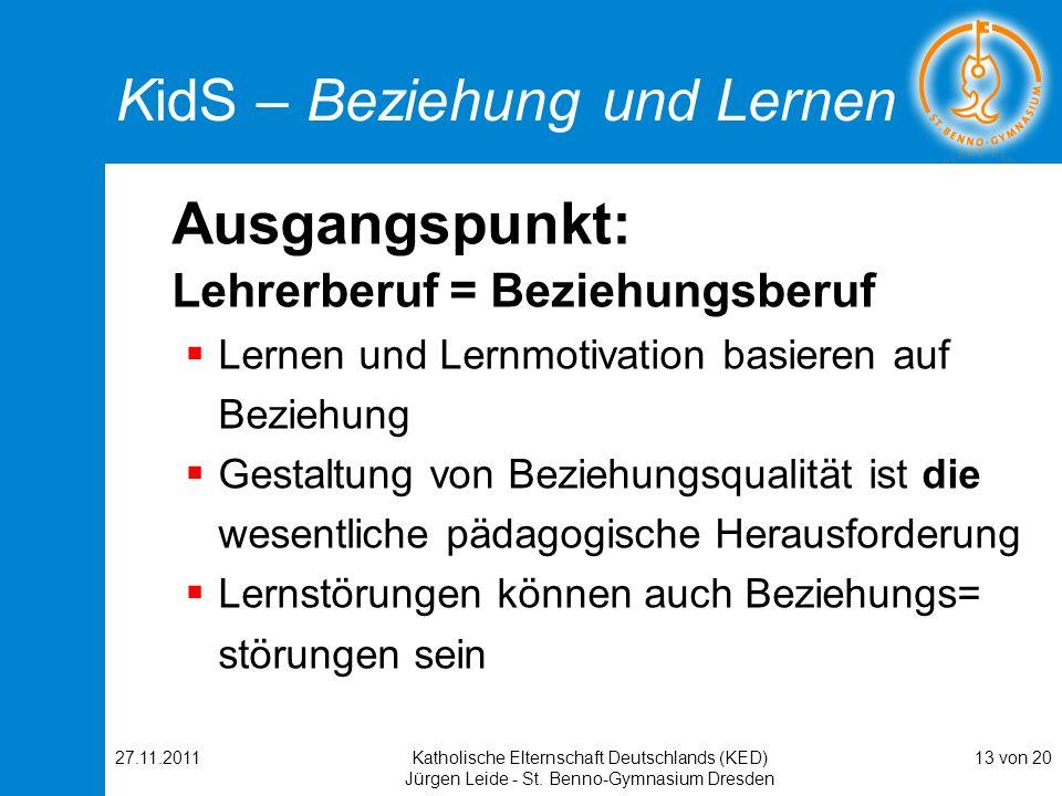 KidS – Beziehung und Lernen