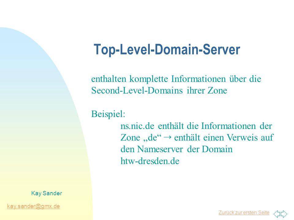 Top-Level-Domain-Server
