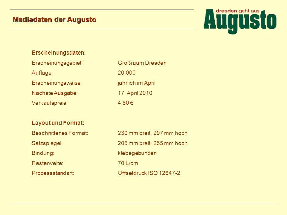 Mediadaten der Augusto