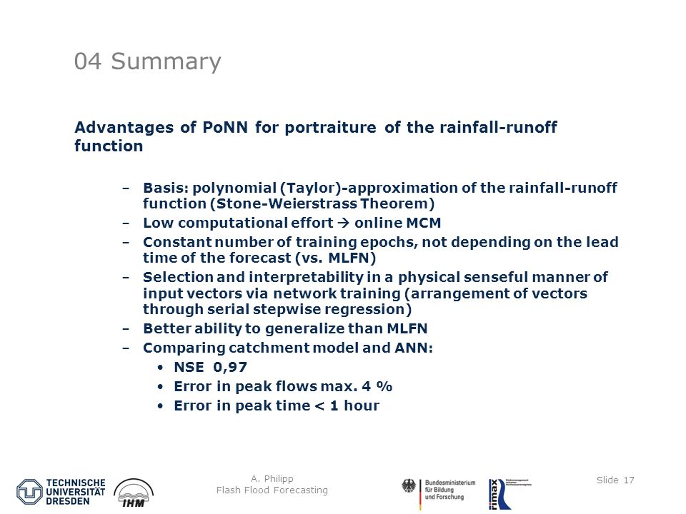 A. Philipp Flash Flood Forecasting