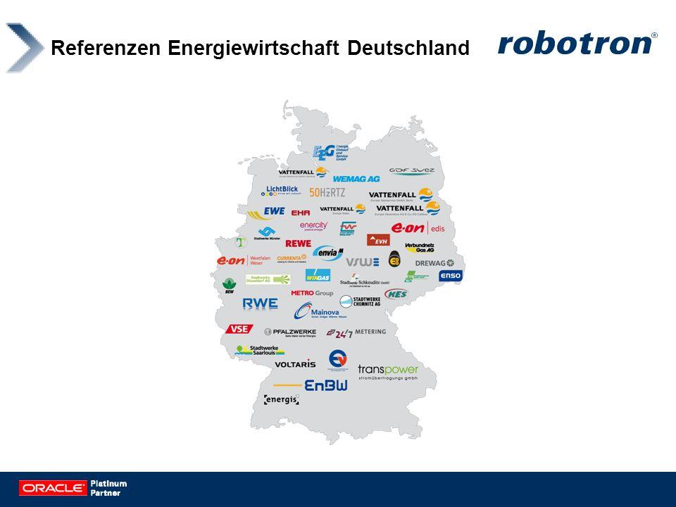 Referenzen Energiewirtschaft Deutschland