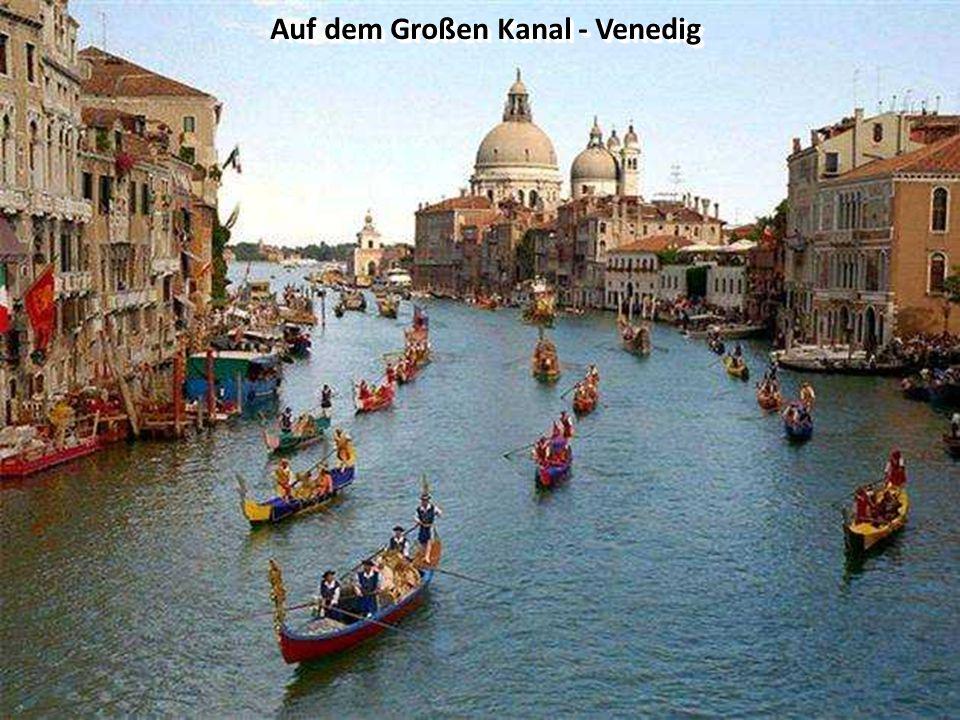 Auf dem Großen Kanal - Venedig