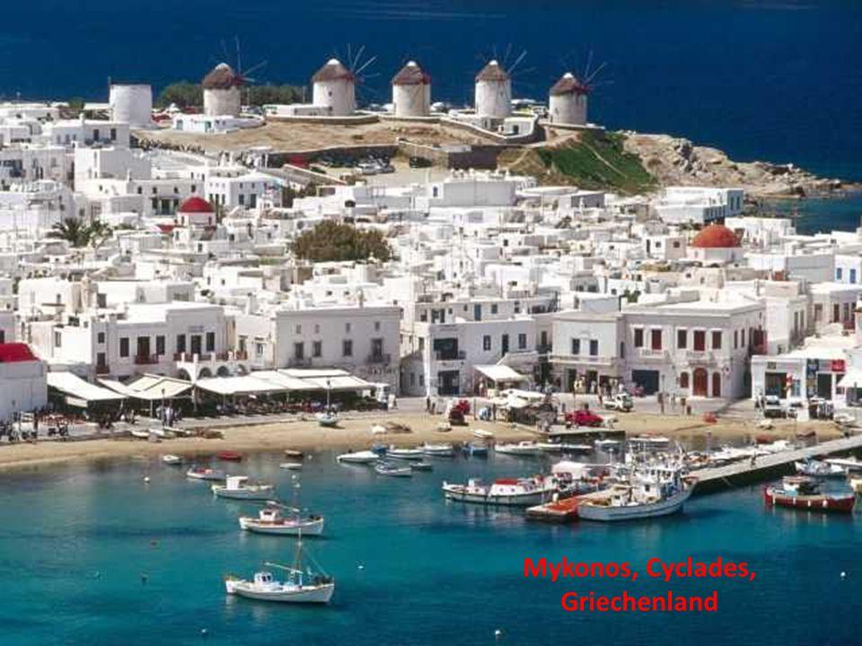 Mykonos, Cyclades, Griechenland