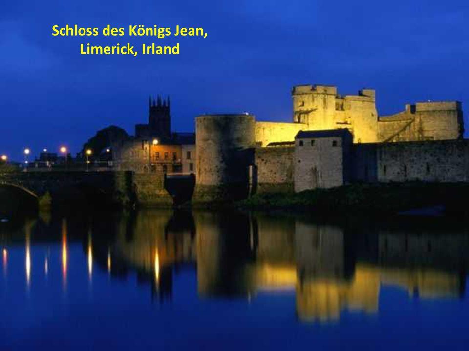 Schloss des Königs Jean, Limerick, Irland