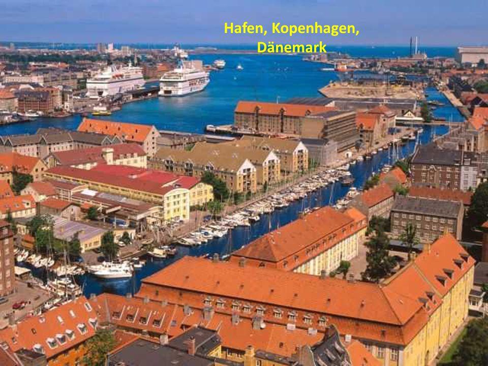 Hafen, Kopenhagen, Dänemark