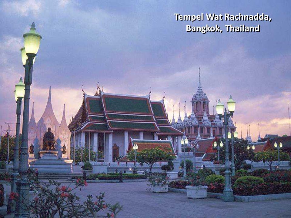 Tempel Wat Rachnadda, Bangkok, Thailand