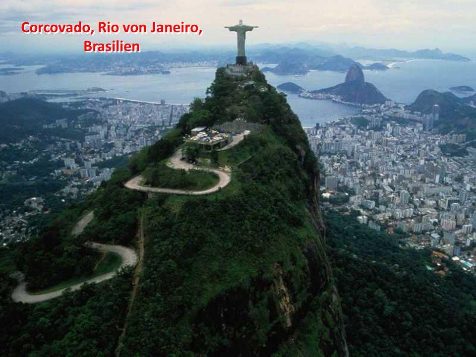 Corcovado, Rio von Janeiro, Brasilien
