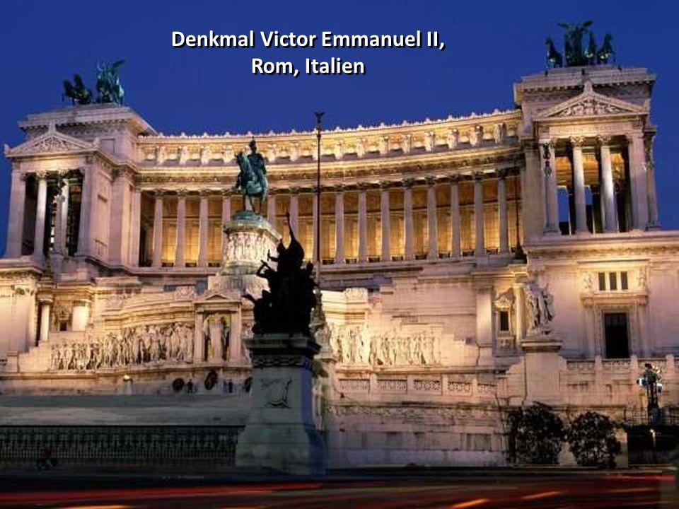 Denkmal Victor Emmanuel II, Rom, Italien